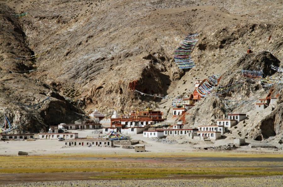 Xianglukang Monastery in Gê'gyai County, Ngari