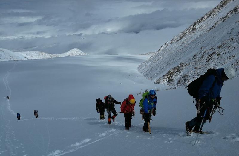 Xuelapegangri Peak in Xaitongmoin County, Shigatse