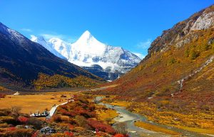 Yading Nature Reserve in Daocheng County, Garze