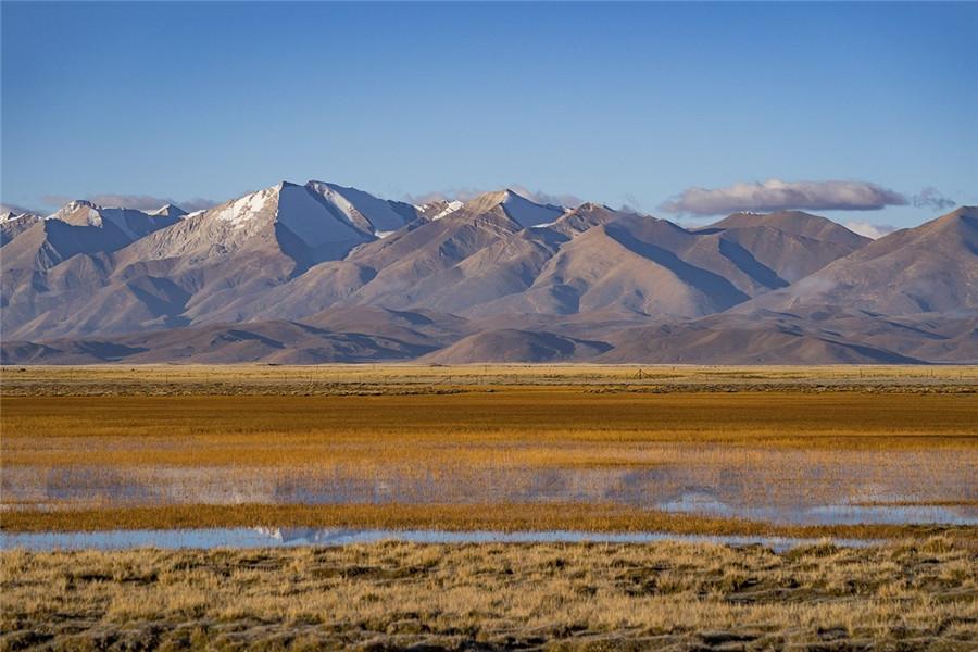 Yajiangyuan Wetland Viewing Area in Zhongba County, Shigatse