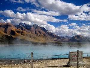 Yangpachen Hot Spring in Damxung County, Lhasa