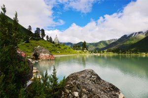 Yihun Lhatso Lake in Dege County, Garze