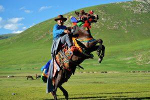 Yushu Horse Racing Festival in Qinghai