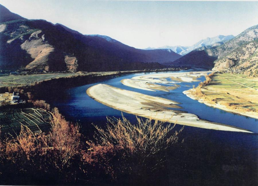 Za'gya Zangbo River in Nagqu