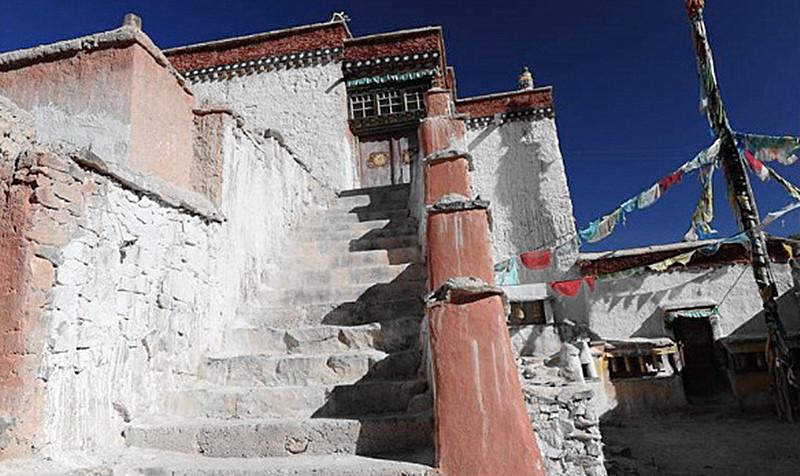Zhaxigang Monastery in Gar County, Ngari