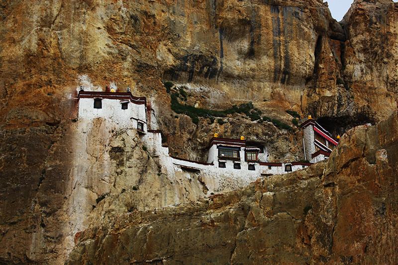 Zhensang Monastery in Yadong County, Shigatse