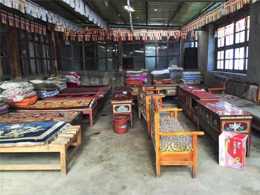 Zhire Monastery in Burang County, Ngari