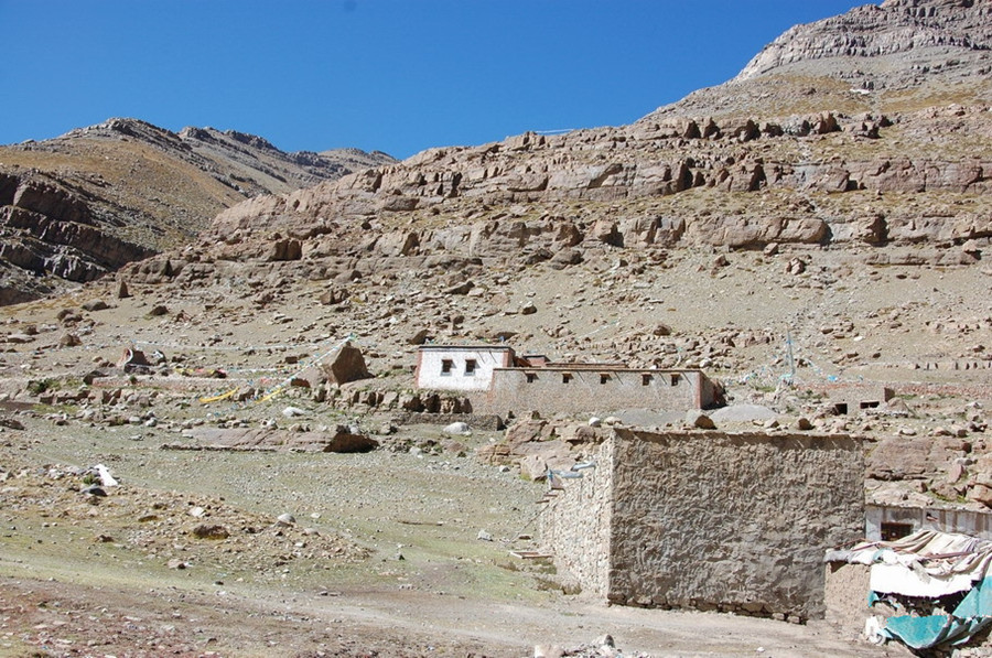 Zutruphuk Monastery in Burang County, Ngari