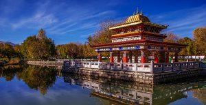 Norbulingka Park in Lhasa