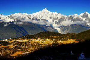 Meili Snow Mountain in Yunnan